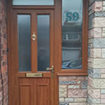 Front Door Glazing by Avonvale Garage Doors and Glazing, Solihull, West Midlands